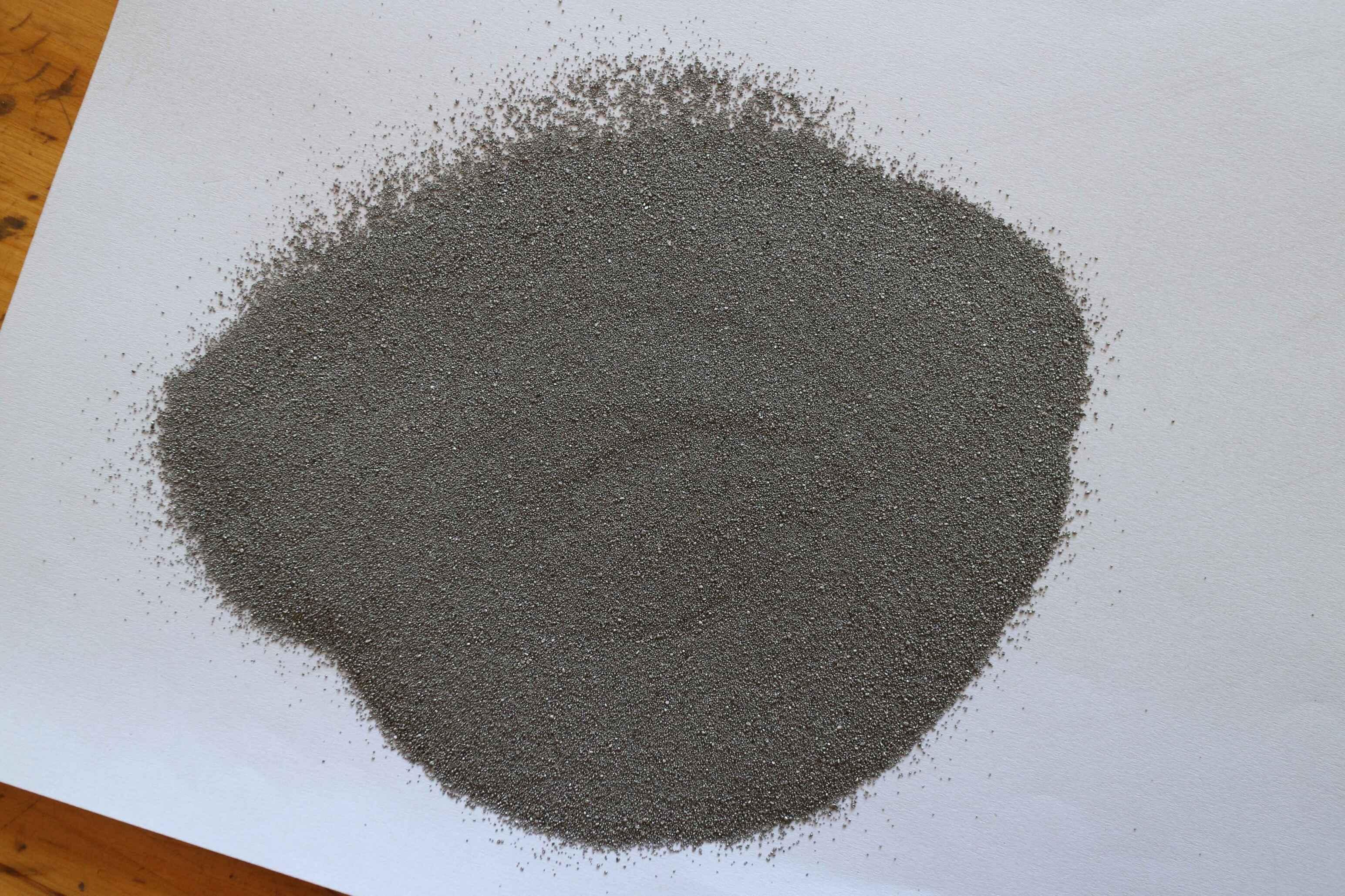 如何正确的挑选优质量的配重铁砂?
